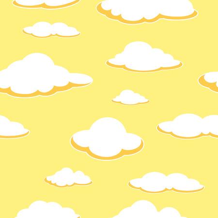 空のシームレスな背景。
