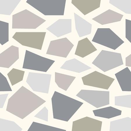piso piedra: Fondo de piedra. Piedra de fondo sin fisuras. Vectores