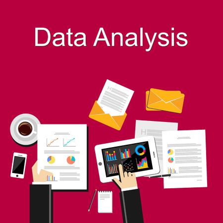 Data analysis illustration.