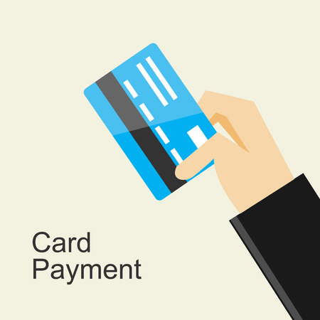 card payment: Card payment illustration concept.