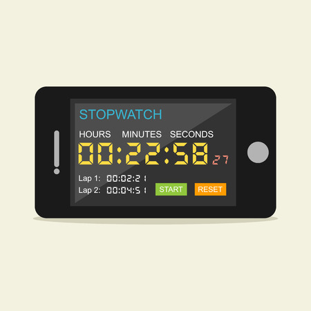 mobile application: Stopwatch mobile application.