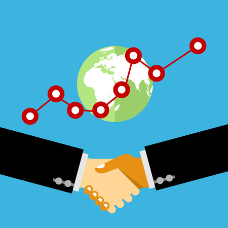 business deal: Hand shake, Business deal, Business people shaking hands