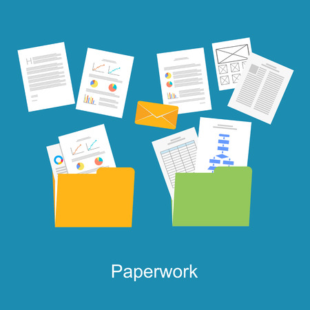 messy: Paperwork, Documents icon.