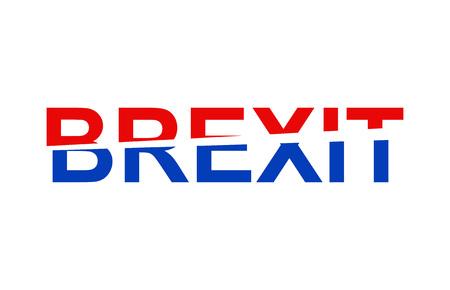 remain: Brexit Text. Brexit UK EU referendum.