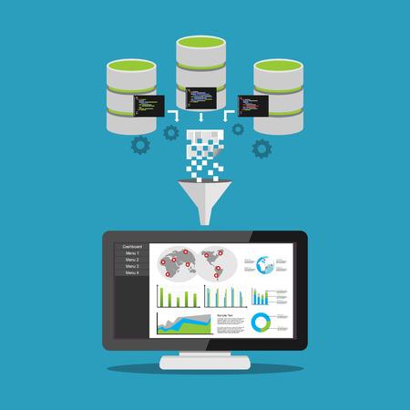 Data mining processing.
