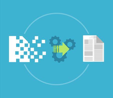 La recuperación de datos, restaurar, el concepto de copia de seguridad.