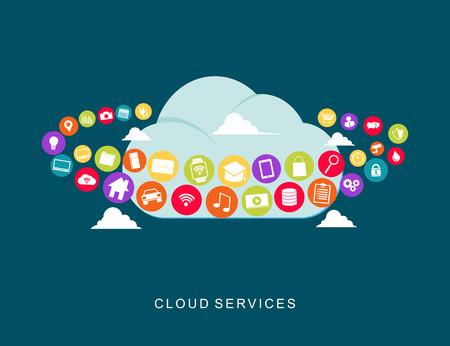 cloud technology: Cloud services technology.