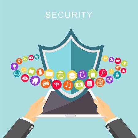 limited access: Data security. Antivirus. Data protection.