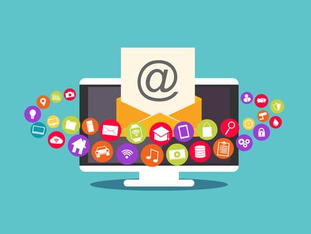 correo electronico: Correo de propaganda. contenidos de correo electrónico. correo electrónico multimedia.