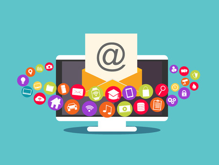 multimedia: Email marketing. Email contents. Multimedia email.