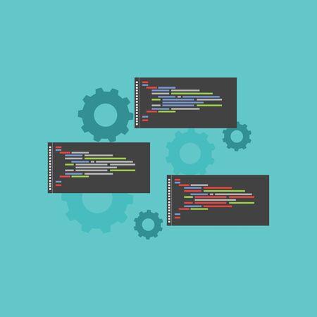 object: Programming language Illustration