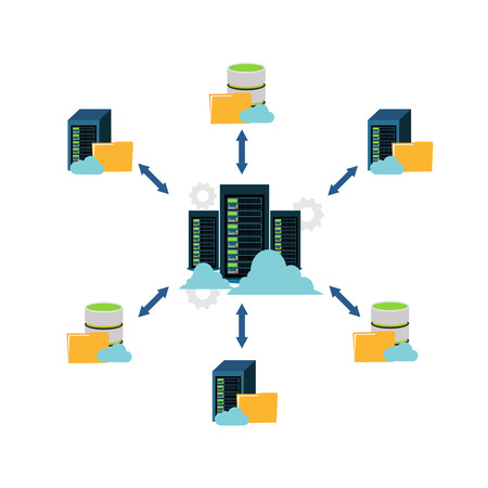 File sharing, data center, file management and client server communication.