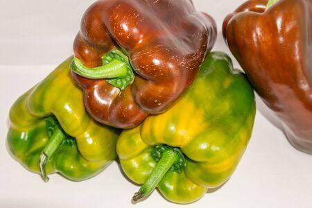 A close up of a pepper
