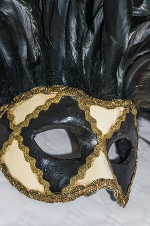 A close up of a mask. High quality photo