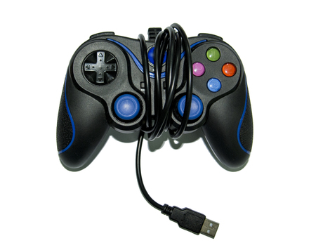 Game Joystick isolated on a white background