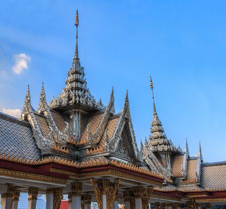 temple thai in bangkok of thailand
