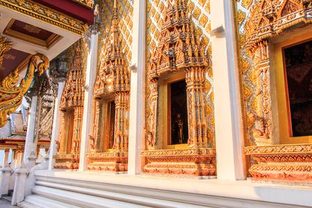 window of churcn of  the temple