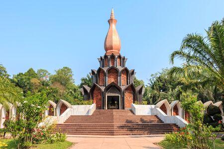 pagoda of professor mong of thailand Stock Photo