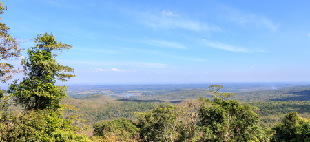 Landscape view from top of mountain