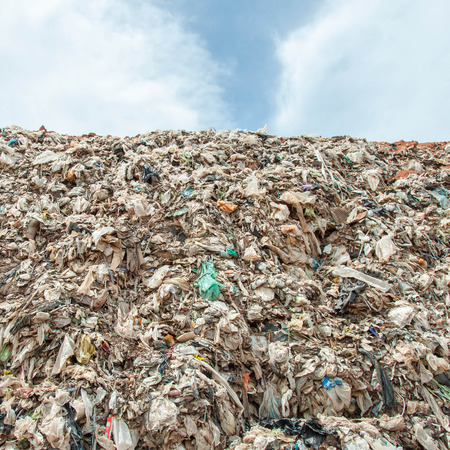 landfill site: Many of Garbage, pollution, Global warming