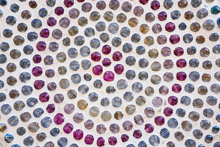 Colorful mosaic background photo