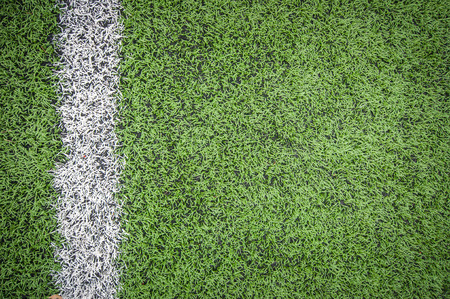 rugby football: Soccer Field Line detail for Backgrounds or Texture