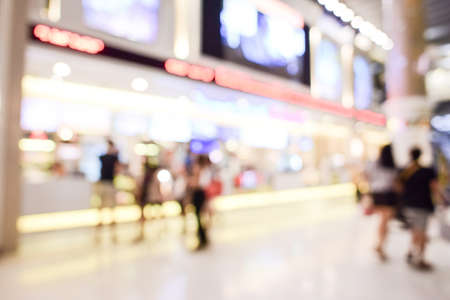 store: department store blurred Stock Photo