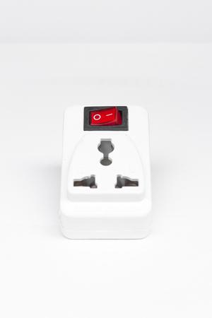 switch plug: plug socket and switch