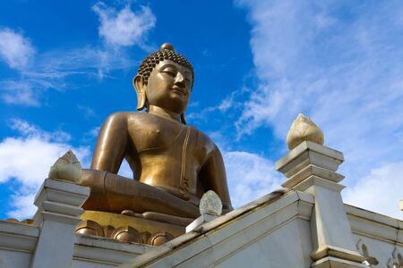 dhamma: Temple Wat puttathiwat at Betong Thailand  Stock Photo