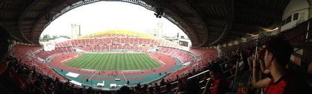premier league: Football match man united vs. all star thai premier League.