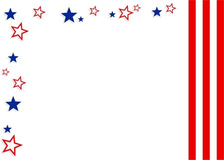 stars and stripes: patriotic background