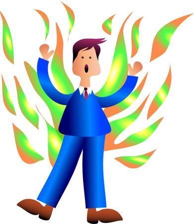 burning man: business fire