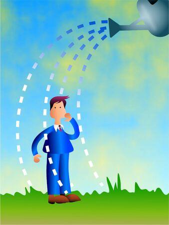 novice: watering business