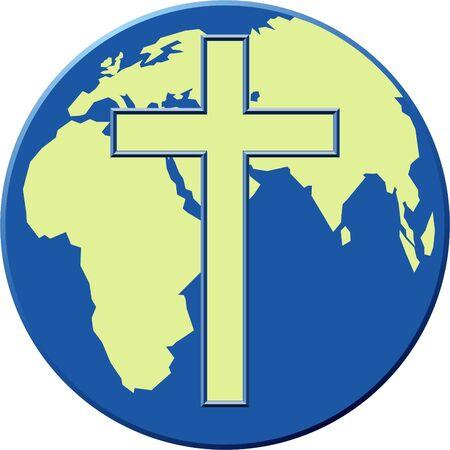 evangelism: earth cross