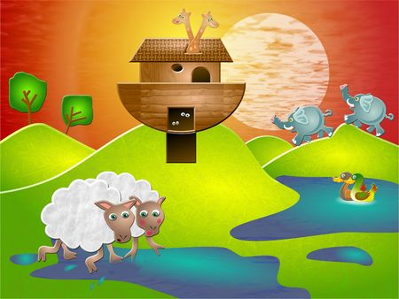 flood: Noahs ark