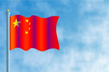 flagpoles: China