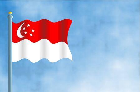 flagpoles: Singapore