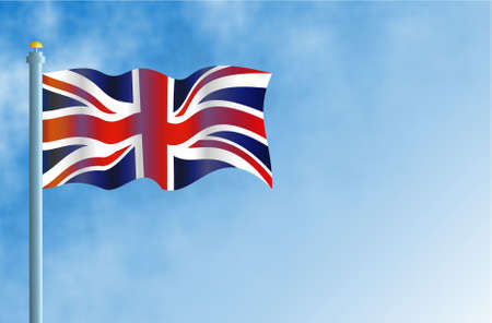 flagpoles: Union Jack