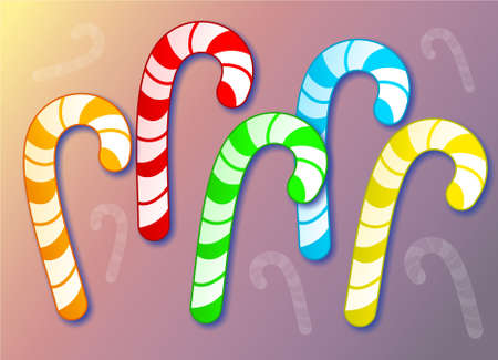 candy canes photo