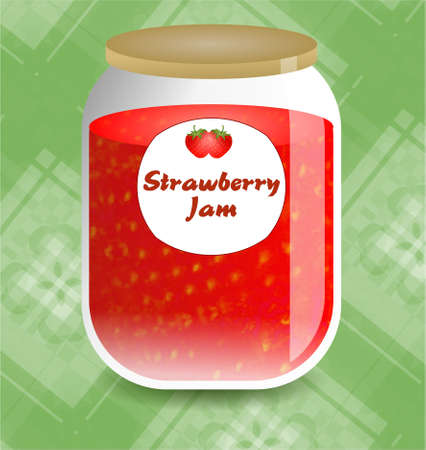 preservative: strawberry jam