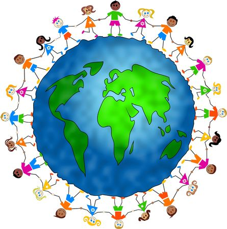 human geography: global kids