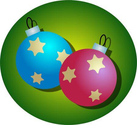 festive occasions: Christmas tree baubels