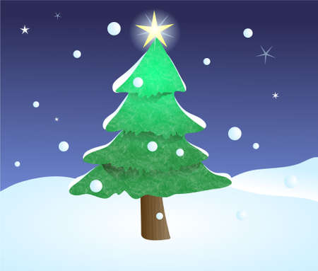 festive occasions: Christmas tree