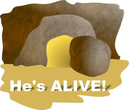 tumbas: �l es vivo - la tumba vac�a