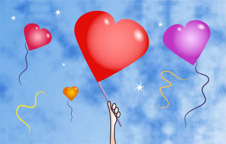 heart balloons Stock Photo - 229387