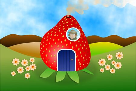 fruitful: farmers strawberry house
