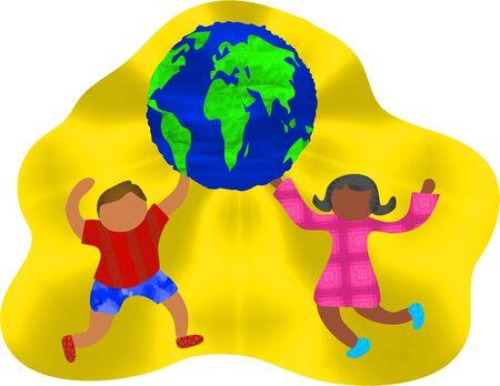 racial diversity: groovy global kids
