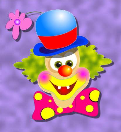 clown photo