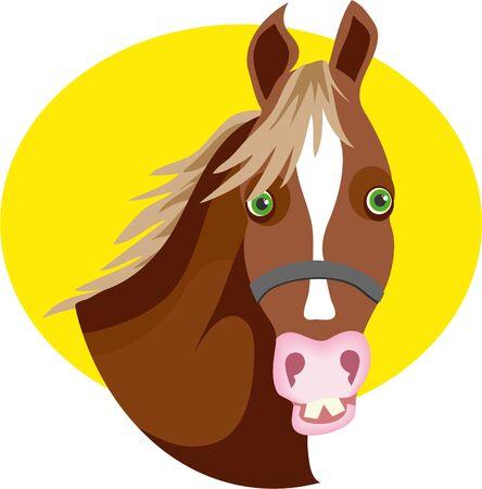 goofy horse Stock Photo - 242145