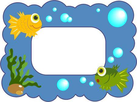 fishy frame photo